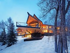 Architect Peter Marino's Rocky Mountain Chalet | Architectural Digest