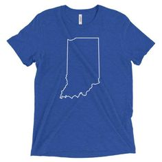 Simply Indiana T-Shirt | Hoosier Proud
