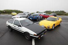 Initial D cars