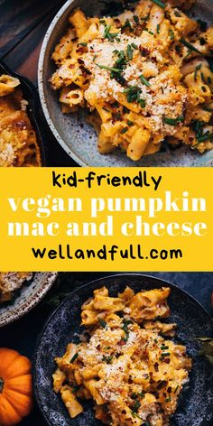 Best Vegetarian Recipes, Good Healthy Recipes, Vegan Pumpkin, Pumpkin Puree, Dairy Free Mac And Cheese, Pumpkin Mac And Cheese, How To Cook Pasta, Casserole Dishes, A Food