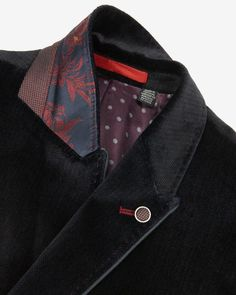 Explore men's blazers at Ted Baker. From printed to plain, there's a dapper style for every gent. Tailor Made Suits, Couture Sewing Techniques, Blazers For Men, Navy Blazers, Tailored Jacket, Casual Blazer, Pants Pattern, Apparel Design, Fashion Pants