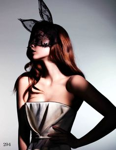 Model Barbara Palvin, photographer Jem Mitchell for Elle, UK, March 2013