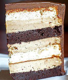 Heaven & Hell Cake - Stephan Pyles