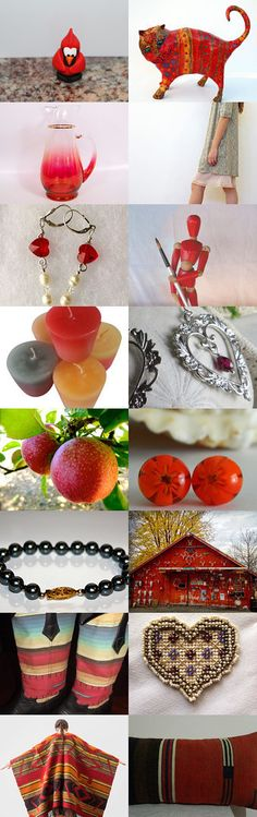 There's a Crispness in the Air! by ElizabethGraf on Etsy #handmade #vintage #fineart #jewelry #accessories #gifts