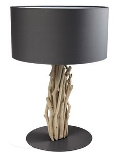Un intérieur scandinave : Bois flotté Driftwood Lamp, Driftwood Crafts, Wood Lamps, Deco Marine, Light Crafts, Tiffany Lamps, Tree Art, Discount Furniture, Lighting Design