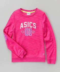 Another great find on #zulily! ASICS Pink Glo Cozy Tunic - Girls by ASICS #zulilyfinds