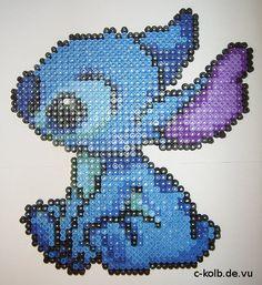 Bügelperlen-Bild Stitch (Lilo & Stitch)