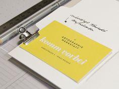Workshop  – DIY Registerbuch –