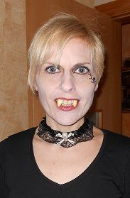 Una Vampira Muy Sexy (Foto Aportada Por Nuestra Amiga Y Miembra De Las Hordas TyNM Olga Gomez)