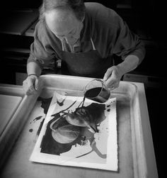 Platinum developing - Alternative Photographic Processes | Cy DeCosse #Photography