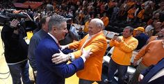 An emotional day in Thompson-Boling Arena couldn't have gone much better for Tennessee. The Vols saw an old friend and embraced him before sending him home with a loss.