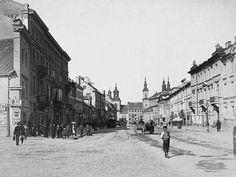 Warszawa - ulica Długa, fot. Konrad Brandel  (1885)