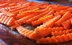 carrot fries - these were so good!! I used tuscan steak season on them though.
