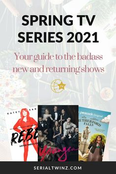 Hey Serial Fans and welcome to the Spring TV Series 2021: Your Guide To The Badass New And Returning Shows. In this guide, we are recommending you the best TV series to watch and stream this Spring. And in the Spring TV series 2021 guide, we have selected only the best badass new and returning shows premiering or released in April 2021. We selected fantasy, comedy, drama. action, dramedy, and more series. #TVSeries #TVShows #BestTVShows #ShowsToWatch Tv Series To Watch, Book Series, Best Tv Shows, Favorite Tv Shows, Tv Guide, Love Movie, Apple Tv, Thriller, Badass