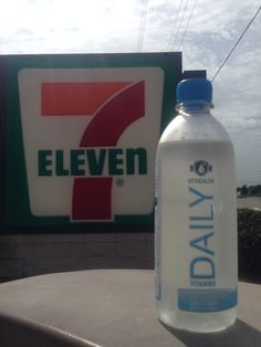 Now available in select #7Eleven stores throughout #Tampa!  Have you taken your #vitamins today? #myhealthwater