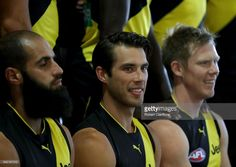 Alex Rance of the Tigers is seen during the Richmond Tigers AFL Team Photo Day on February 17, 2017 at Punt Road Oval in Melbourne, Australia.