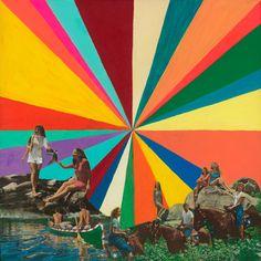 "Saatchi Online Artist Brandi Strickland; Mixed Media, ""Summer Vacation"" #art"