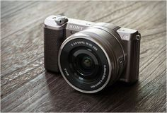 Sony A5100 Product Design #productdesign
