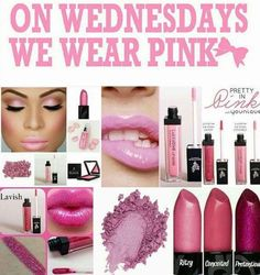 On Wednesdays we wear pink! My favorites are always pink! #pink #makeup #younique #beccasbeautybinge