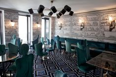 В стиле денди: Винсент Дарре оформил ресторан и отель клуба Le Montana (фото 1)
