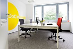 Energetic office space of interactive marketing agency on Behance