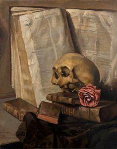 MEMENTO MORI by Émile Bernard (French, 1868-1941)