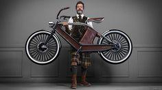 Cykno: ostentación y belleza italiana eléctrica #bicicleta #bike