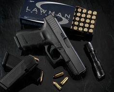 The Glock 19.