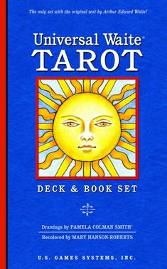 The enhanced imagery makes the Universal Waite Tarot deck more accessible to newcomers and more appealing to seasoned tarot readers. Hanson-Roberts' serene colors also make the Universal Waite deck as perfect for meditation as it is for divination. Best Tarot Decks, Tarot Cards For Beginners, Rider Waite Tarot, Tarot Card Spreads, Tarot Readers, Card Reading, Reading Room, Reading Lists, Oracle Cards