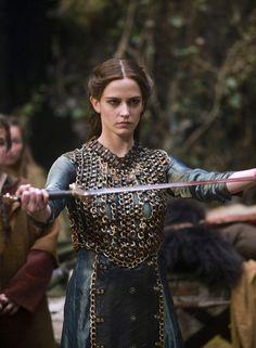Eva Green as Morgana Pendragon in Camelot (TV Series, 2011). [x]