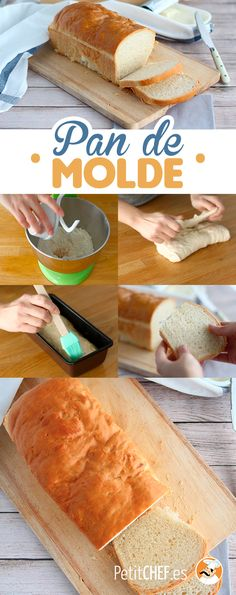 Pan de molde casero Pan Dulce, How To Cook Brats, How To Cook Rice, Cooking Classes Nyc, Cooking Blogs, Cooking Eggplant, Pro Cook, Cooking Prime Rib, European Cuisine