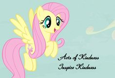 Fluttershy - Acts of kindness inspire kindness