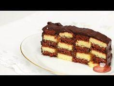 ▶ Sakktábla szelet videó recept (Checkerboard Cake) - YouTube Cake Cookies, Tiramisu, Baking, Ethnic Recipes, Youtube, Cakes, Dios, Cake Makers, Bakken