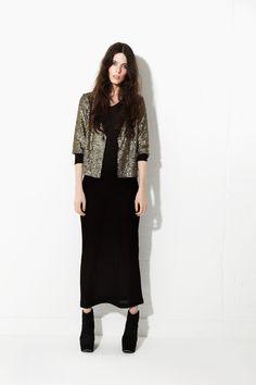 Crumpet Llama Sequin Jacket