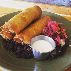 Check out today\'s chef special at Boca 31!  #Repost Anny Wilson.denton  Don\'t miss these SMOKED CHICKEN FLAUTAS (served with rice black beans crema and pico) -$10.00 #flautas #yummy #denton #dentoning #UNT #TWU #foodporn #chefslife #wedentondoit #dentoneats #dentonproud #boca31 #latinflavors #visitdenton #welovedenton #eatlocal #eatfresh #supportlocal #bestofdenton #foodiesindenton #dentonslacker