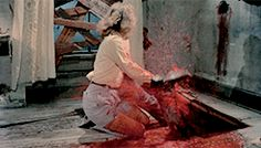 Scene from The Cult of Ghoul: EVIL DEAD II (1987).