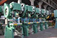 this is our J23 punching machine My mail is ivy@harsle.com