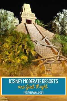 Not too fancy, but not too basic. Not too expensive, but not too budget. Disney Moderate Resorts are just right for many families planning a Disney World Vacation. Disney World Vacation Planning, Orlando Vacation, Walt Disney World Vacations, Disney Trips, Disney Parks, Vacation Ideas, Trip Planning, Fort Wilderness Resort, Caribbean Beach Resort