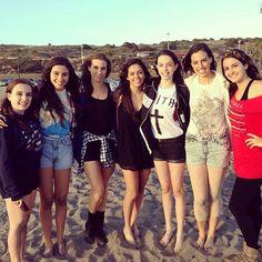 Bethany Noel Mota, Christina, Katherine, Lisa, Amy, Lauren, & Dani Cimorelli #YouTuberChallenge #Day15