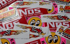Dragster Nascar Racing Sticker Decals lot of 10 free shipping #stickerdecalsworldwide