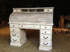 Roll top desk refurb