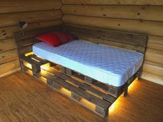 Increase the moment of joy in garden with pallet sofa