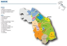 Wine Map of Marche – Courtesy of Federdoc