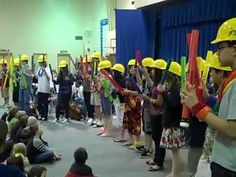 ▶ Jefferson Jaguars 8th Grade Band, Olympia WA - YouTube>>> Hard hats make for a great concert idea ~ Offenbach.