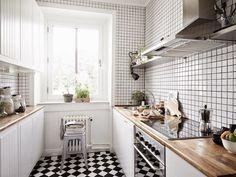 Apartamento nórdico con toque romántico.... | Decorar tu casa es facilisimo.com