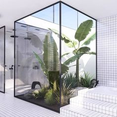 20 Rustic Bathroom Rustic Bathroom Designs 4 - Diy Crafts You & Home Design Interior Garden, Bathroom Interior, Decor Interior Design, Interior And Exterior, Interior Decorating, Decorating Ideas, Interior Plants, Decorating Websites, Ikea Interior