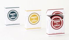 Jessaka Parmley created Happy Go Lucky, a homage to Lucky cigarettes and the hit Television series Mad Men, with different types of condoms names after the shows characters.