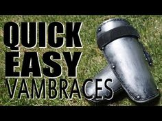 (6) Homemade Vambraces | Cosplay | LARP - YouTube