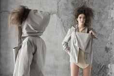 """Colección """"Morfema"""" AW2015. NUMERONUEVE. Fotos:Xabier Aldazabal. Modelo:KooKooAgencia de Modelos"""