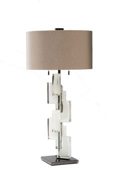 Esha Alta Lamp shown in Ice